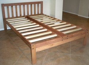 Full  Size Santa Barbara Bed<br>(Toasted Pecan)