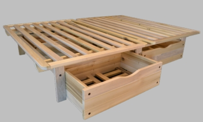 Queen Size Ekko Storage Bed