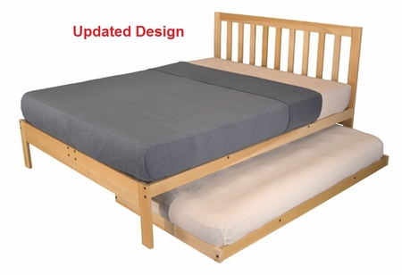 XL Twin Charleston2 Bed & Twin Trundle