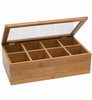 Bamboo Tea Storage Box