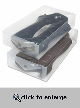 Boot Storage Box Clear Plastic