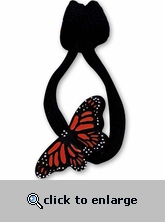 Butterfly Zipper Pull