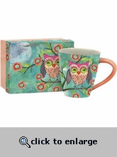 Ceramic Coffee Mug - Owl