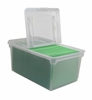 Clear Plastic File Box