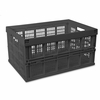 Collapsible Crate for Storage - Black