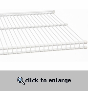freedomRail 16 x 96 Inch Wire Shelf