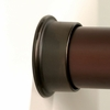 Round Closet Rod Flanges - Oil Rubbed Bronze