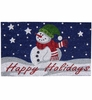 Happy Holidays Outdoor Doormat