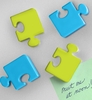 Locker Magnets - Puzzle Pieces