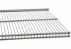 Nickel freedomRail 12 x 96 Inch Wire Shelf