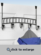 Over the Door Hook Rack - Twist