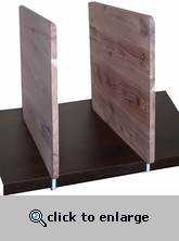 Shelf Dividers for Wood Shelves - Cedar