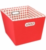 Shelf Storage Bin - Red