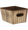 Shelf Storage Bin - Wood
