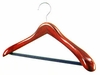 Wide Suit Hanger - Cherry Finish