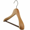 Wide Suit Hanger - Natural Finish