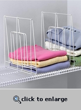 Wire Shelf Divider - Tall