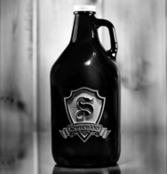 Beer Growlers, Amber Glass Beer Containers