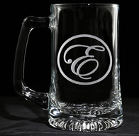 Beer Mugs Engraved Monogram