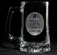 Breast Cancer Survivor Awareness Beer Mug