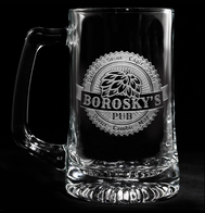 Brew Pub Beer Glass