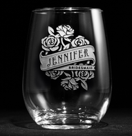 Bridal Party Stemless Wine Gift