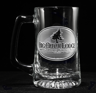 Business Logo Beer Mugs