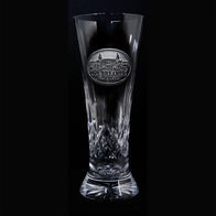 Custom Logo Pilsner Glasses, Pair