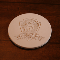 Custom Sandstone Coasters, SET OF 4