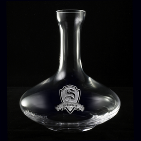 Custom Wine Decanter, Engraved