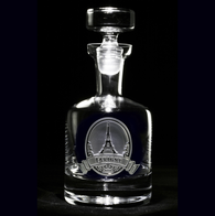 Eiffel Tower Scotch Decanter