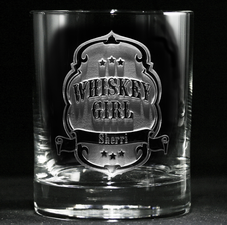 Engraved Whiskey Scotch for Women