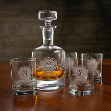 Gifts For Men, Engraved Barware for Men