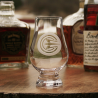Ray Cash Care Glencairn Scotch Glass