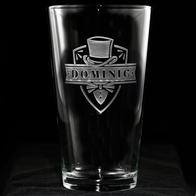Groomsmen Beer Glass