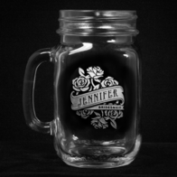 Maid of Honor Mason Jar Gifts