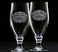 Mr. and Mrs. Goblet Set