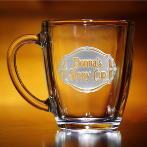Personalized Sippy Cup Coffee Mug