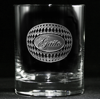 Personalized Unique Engraved Whiskey Scotch Glasses