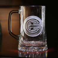 Ray Cash Care 3D Trident Beer Mug