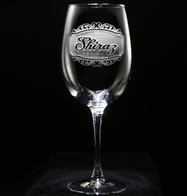 Shiraz Wine Glass