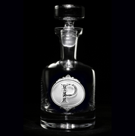 Monogrammed Whiskey Scotch Decanters