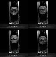 Wildlife Highball Glasses