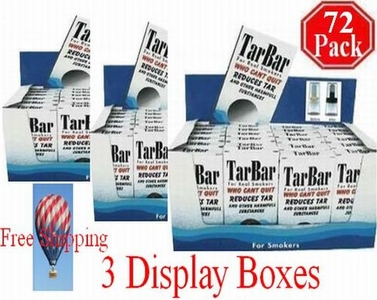 Tarbar 3 Display Boxes    72 Packs