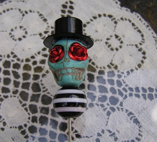 Dead Day of the Dead Stick Pin