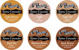 Tatjacket Premium Tattoo Concealer Jar