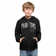 47 Brand  Phantoms Youth Black Hoody
