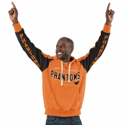 Hands High  Phantoms Orange & Black Pullover