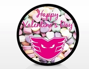Valentine's Day Puck