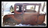 1930 1931 FORD MODEL A COUPE BODY ORIGINAL AS IS